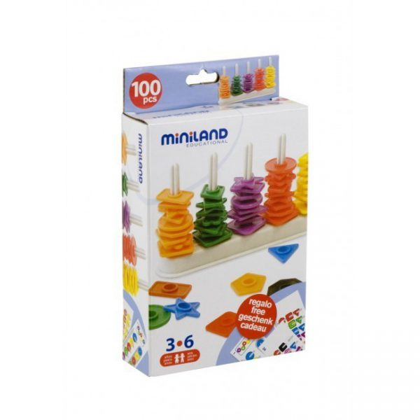 Miniland Abacus with Shapes