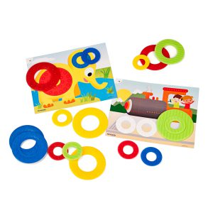 Miniland Aptitude Activity Math Colour Rings