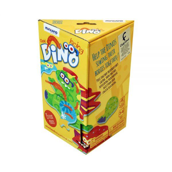 Miniland Dino Lacing - Educational Toys Online