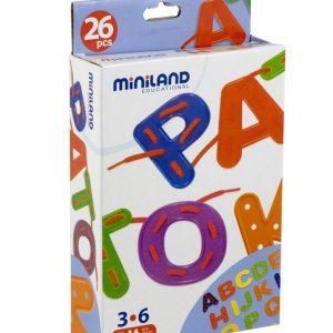 Miniland Alphabet to Sew