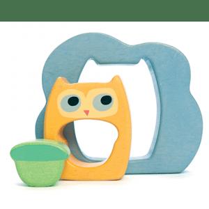 PETILOU Owly Woo 3pc Puzzle