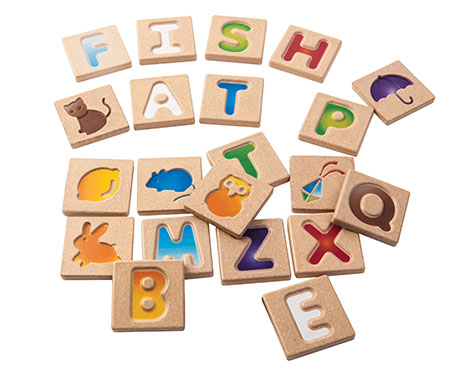 PlanToys Alphabet Toy Set A-Z