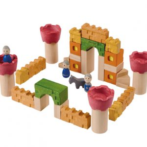 PlanToys Castle Blocks Set