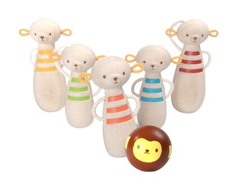 PlanToys Monkey Bowling