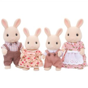 Sylvanian Families Milk Rabbit Family - Educational Toys Online