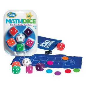 ThinkFun Math Dice Jr. Game