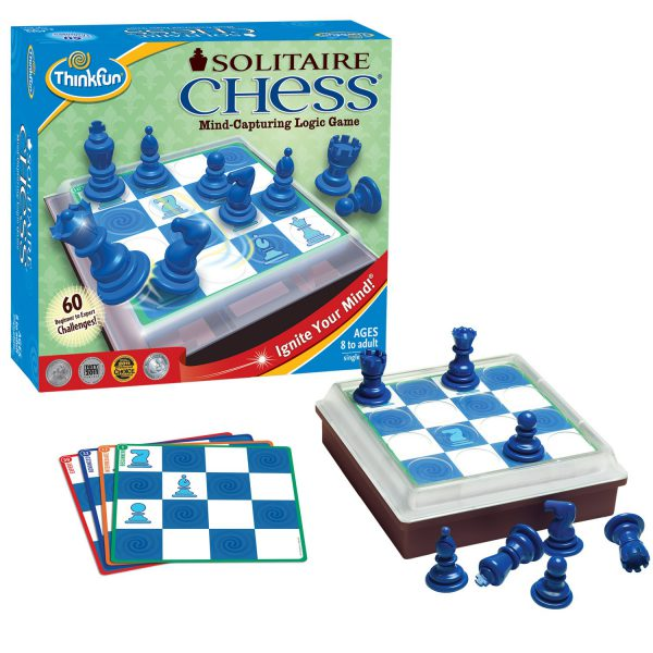 ThinkFun Solitaire Chess Game