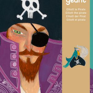 Djeco Elliott Pirate Giant Puzzle