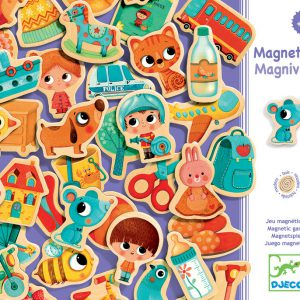 Djeco Magnetic Magniville - Educational Toys Online