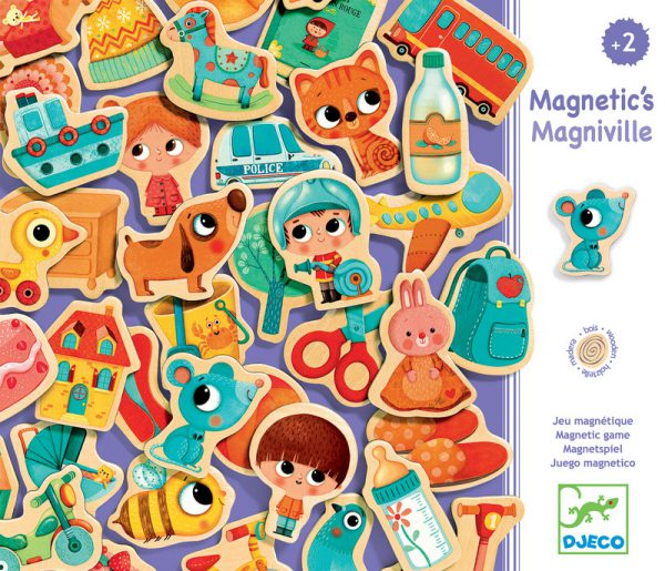 Djeco Magnetic Magniville