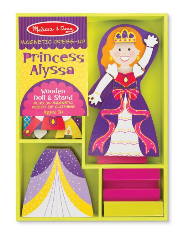 Melissa and Doug Princess Alyssa Magnetic Dress-Up