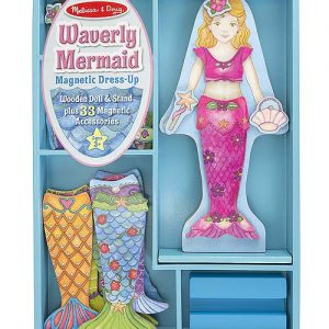 Melissa and Doug Waverly Mermaid Magnetic Dress-Up Set