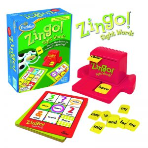 ThinkFun Zingo Sight Words Game