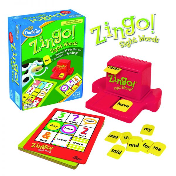 ThinkFun Zingo Sight Words Game - Educational Toys Online
