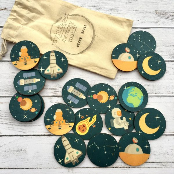 Memory Match Game Outer Space - Educational Toys Online