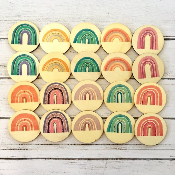 Memory Match Game Rainbows - Educational Toys Online