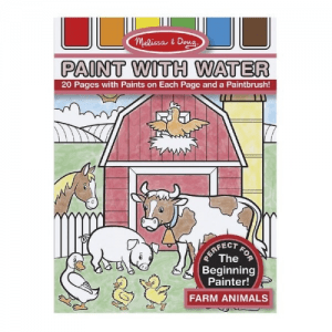 Melissa and Doug Paint with Water Farm Animals - Educational Toys Online