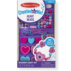 Melissa and Doug Created By Me Heart Beads - Educational Toys Online