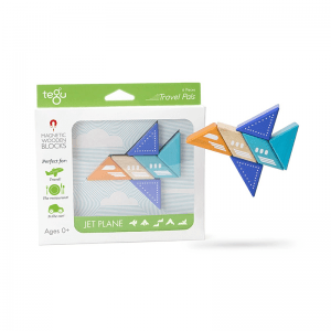 Tegu Travel Pals - Jet Plane - Educational Toys Online