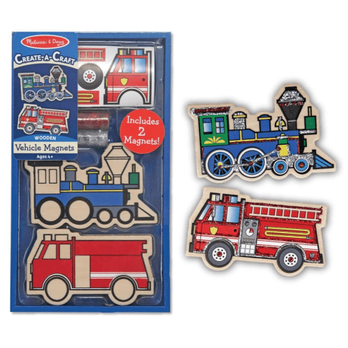 Melissa and Doug Create A Craft Vehicle Magnets - Educational Toys Online