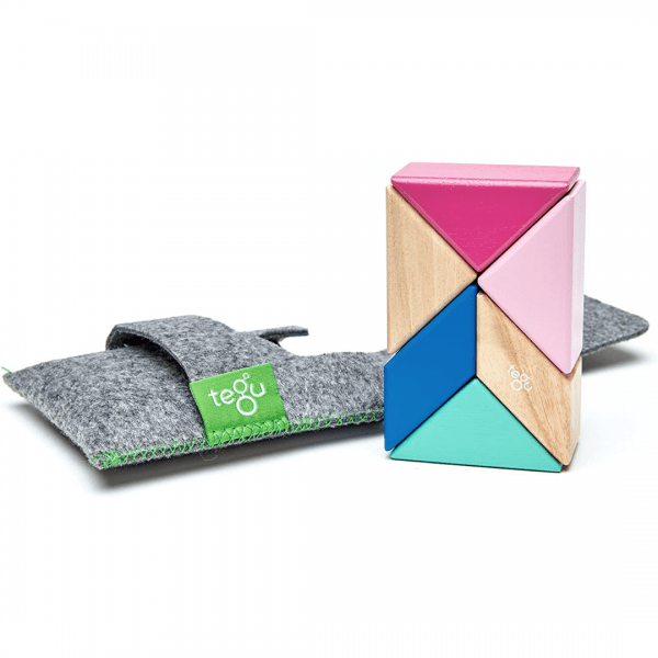 Tegu Pocket Pouch Prism 6pc in Blossom - Educational Toys Online