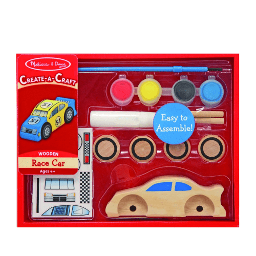 Melissa and Doug Create A Craft Race Car - Educational Toys Online