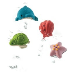 Bath Toys Sea Life Play Set - PlanToys