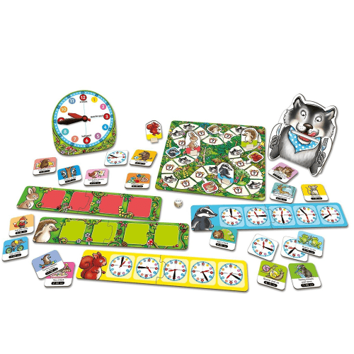 What's the Time Mr Wolf Game - Orchard Toys - Educational Toys Online