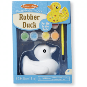 Melissa and Doug Decorate Your Own Rubber Duck - Educational Toys Online