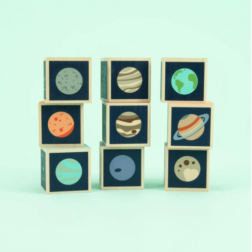 Space Blocks: Planets - Uncle Goose- Educational Toys Online