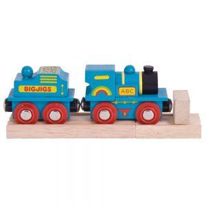 Bigjigs Blue ABC Engine - Educational Toys Online