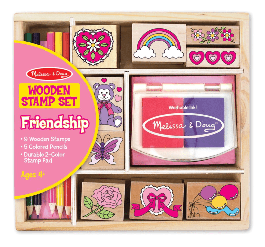 Stamp Set: Friendship Melissa and Doug - Educational Toys Online