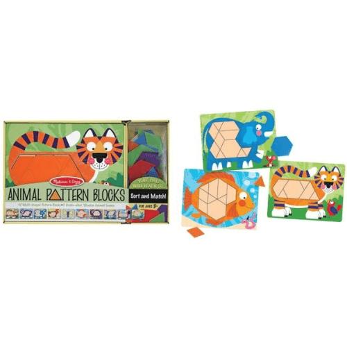 Melissa and Doug Animal Pattern Blocks - Educational Toys Online