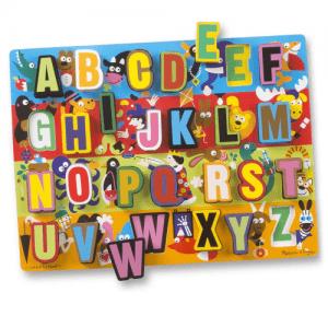 Melissa and Doug Jumbo ABC Puzzle - Educational Toys Online