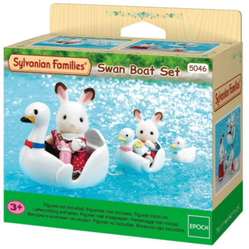 Sylvanian Families Swan Boat Set - Educational Toys Online