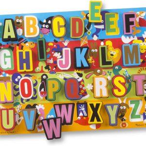 Melissa and Doug Jumbo ABC Chunky Puzzle - Educational Toys Online