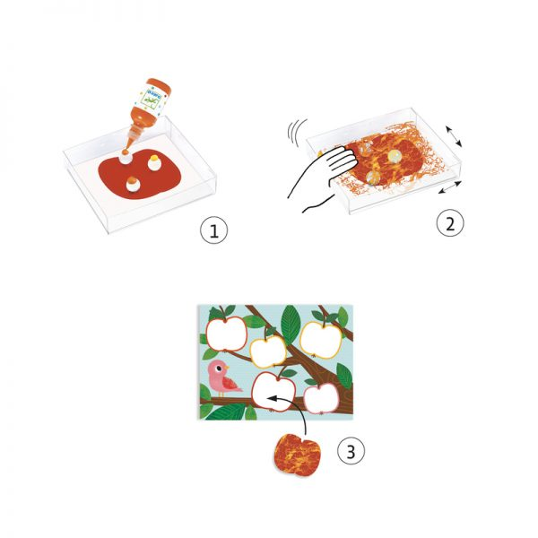 Djeco Painting with Marbles Set - Educational Toys Online