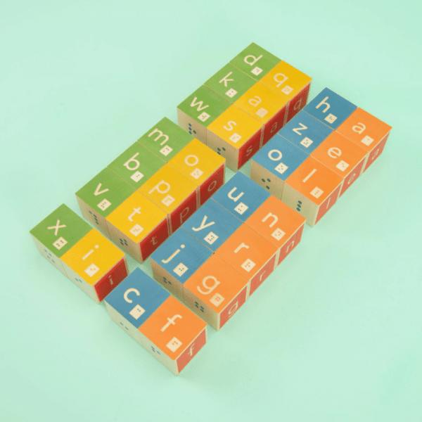 Uncle Goose Braille Blocks - Educational Toys Online