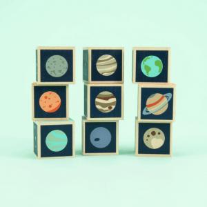 Uncle Goose Planet Blocks - Educational Toys Online