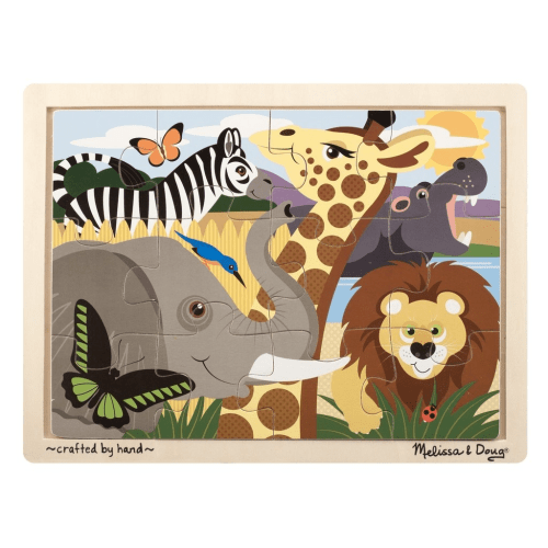Melissa and Doug Animal Puzzle - Educational Toys Online