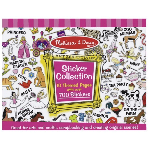 Melissa and Doug Sticker Collection - Educational Toys Online