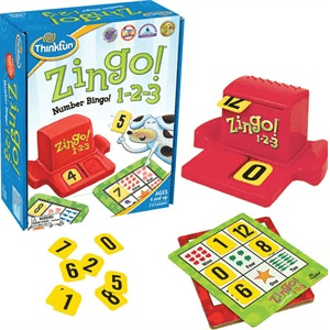 ThinkFun Zingo! 1-2-3 Game