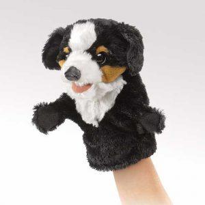 Little Bernese Folkmanis Dog Puppet - Educational Toys Online