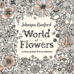 World of Flowers Colouring Book- Educational Toys Online