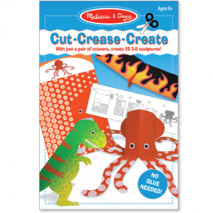 Melissa and Doug Cut-Crease-Create Blue - Educational Toys Online