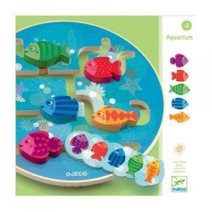 Djeco Aquarium Labyrinth Game - Educational Toys Online