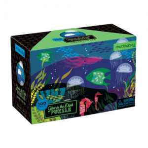 Mudpuppy Glow in the Dark Under the Sea Puzzle - 100pc - Educational Toys Online