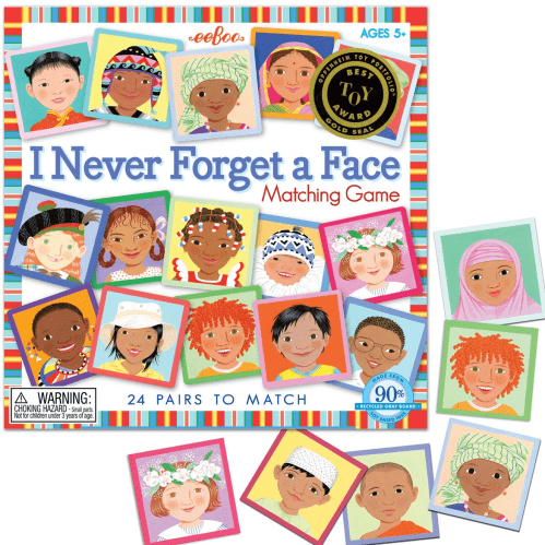eeBoo Matching Game – Never Forget a Face - Educational Toys Online