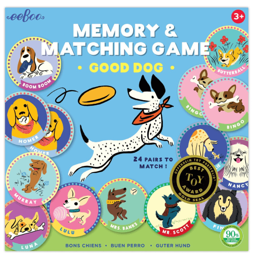 """Memory Match Game """"Good Dog"""" - Best Memory Game for Kids- EeBoo"""