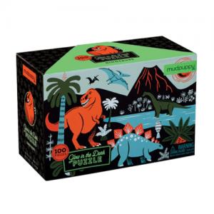 Mudpuppy Glow in the Dark Dinosaur Puzzle - 100pc - Educational Toys Online